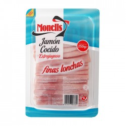 105151001 jamon cocido I f.lonchas 250gr