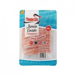 105990001 jamón cocido I finas lonchas 120 gr.