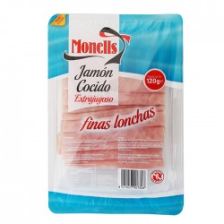 105990001 jamon cocido I f.lonchas 120gr