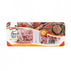 102277001 tiras de jamon pavo braseadas 2x75 gr.